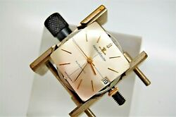 Vintage Jaeger Lecoultre 18k Solid Gold Automatic Cal K881 Mens Watch