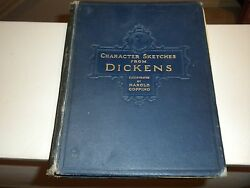 1924 Character Sketches From Dickens Illustrated By Harold Copping