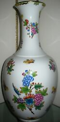 Stunning Rare Herend Queen Victoria Vase 19.75 Tall