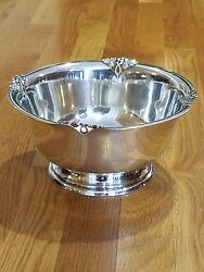 M. Fred Hirsch Co. And039alexandriaand039 Sterling Bowl 8.5 Inch 583 Grams