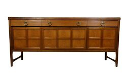 Mid Century Modern Credenza, Bar or Media console by Nathan