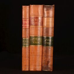 1860-1874 3vol Collection Of Public General Statutes Bedlington Petty Sessions