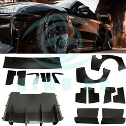 For Nissan GTR R35 Maxton 09-16 FRP+Carbon Full Wide Body Bodykit xza1324