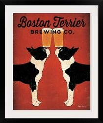 Boston Terrier Brewing Co Black Frame