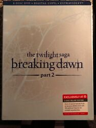 The Twilight Saga, Breaking Dawn Part 2 Limited Edition Target Exclusive 3-dvd