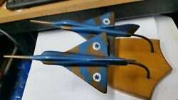 Idf Israel Pair Of Fighters Iaf Dedicated To Iaf Officer 1968