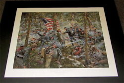 Lions Of The Round Top - By Don Troiani - Collectible Civil War Print - Mint