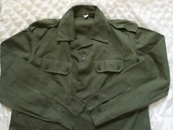 Vintage military hunting shirts Golden Valley