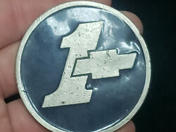 VERY RARE VINTAGE CHEVROLET #1 CAR BELT BUCKLE AMAZING PIECE FREE SHIPPING!!!