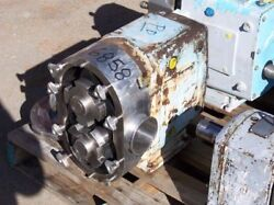 Waukesha Model 220 Positive Displacement Pump S/s Product Contact