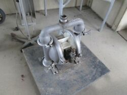 Wilden Diaphragm Pump Model M4, S/s, 1.5 In/out Tri Clamp