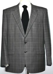Brioni Mens Traiano 2-BTN Super 150s Wool Suit Size 46 56 R NEW $6400