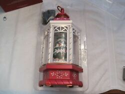 2018 Hallmark Keepsake Christmas Lantern Table Decoration Light Sound And Motion