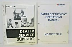 Suzuki Part Department Operations Manual 2005 With Dealer Service Support