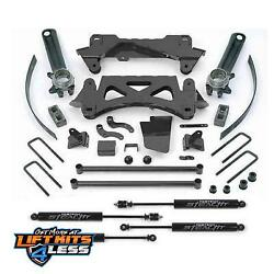 Fabtech K7002m 6 Performance Lift Kit W/stealth Shocks For 1995-2004 Tacoma