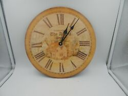 Howard Miller Wall Clock Moment In Time Argyll Tavern 620-309 Vintage 13