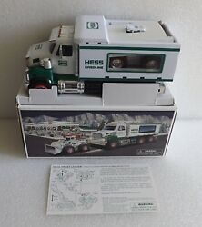 Brand New In Box Nib 2008 Hess Toy Truck And Front Loader Works Excellent