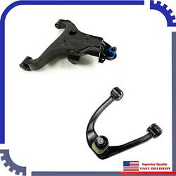 2Pcs New Control Arm Front Right Upper&Lower Fits 201214-15 Nissan Titan Base