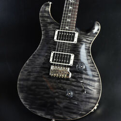 Paul Reed Smith (PRS) 2017 Custom 24 Quilt 10Top Gray Black Pattern Thin