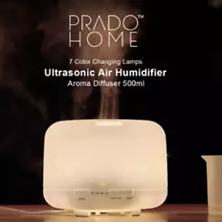 500ml Ultrasonic Air Aroma Humidifier Essentiel Oil cool mist LED Light for Home