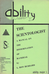 Ability Magazine - Ultra-rare Collection From The Founding Church Of Scientology