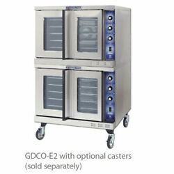 Bakers GDCO-E2 Convection Oven Electric Double Deck Cyclone Series