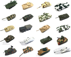 Set of 20 Military Vehicles 1:72 Eaglemoss - DIECAST TANK WAR WW2 PANZER ARMY