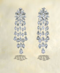 Diamond 36.41 carats of marquise and pear shape diamonds set in 18k white gold.