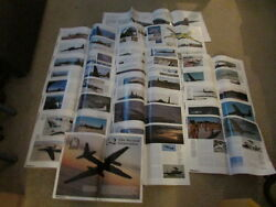 Vintage U-2 Advanced Proofs For World Air Power Journal Article Photos And Letters
