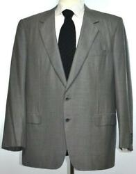 Brioni Mens Traiano 2-BTN Super 170's Wool Suit Size 46 56 R NEW $5700