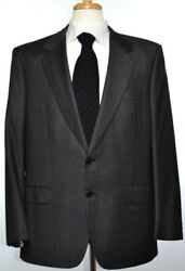 Brioni Mens Traiano 2-BTN Superfine Wool Suit Size 44 54 R NEW $5800