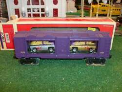 Lionel Trains 16757 Johnny Lightning Display Boxcar By Eastwood Automobilia