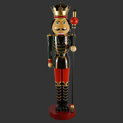 12'FT Huge Christmas Decor Nutcracker Statue Holiday Garden  Door Entry Decor