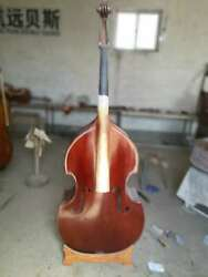 high quality hand made double bassspruce top Maple back  ribs and neck 34