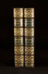 1925 2vols The Earl Of Chesterfield Letters To His Son Ltd Ed Whitman Bennet