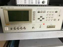 1pc Used Agilent Hp 4284a Lcr Tested Dhl Or Ems P3922 Ll