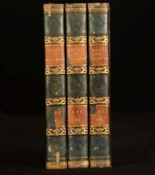 1833 3 Vol Mary Of Burgundy Or The Revolt Of Ghent G P R James FIRST Edition