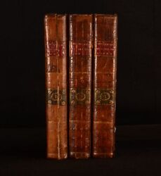 1777 3vol Miscellaneous Works Of The Late Philip Dormer Stanhope 1st Dublin Edit
