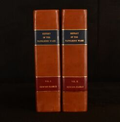 1815 2vol Impartial History Of The Naval Military And Political Events H Clarke