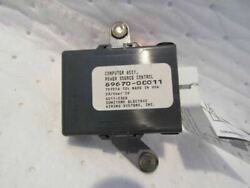 08-14 Sequoia Chassis Ecm Supply Power Source Control Id 896700c011