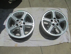 Land Rover Factory Rims Unknown Year Or Application Two 17 Inch Rims