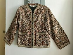 Ysl Yves Saint Laurent Vintage Quilted Jacket / Russian Collection 1976 / Rare