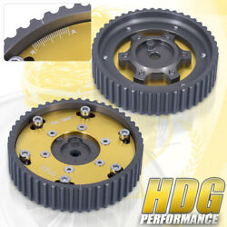 For Bmw E30 E36 328i Performance Race M20 Engine 2pc Cam Gear Pulley Sprocket Gd