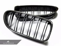 Autotecknic Replacement Carbon Fiber Front Grille - Bmw F06 F12 F13 640i 650i M6