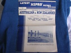 1942 Wwii British Australian And New Zealander Magazine-comp Copy For Us Troops