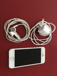 Apple Iphone 5s - 64gb - Silver Unlocked A1533 Gsm