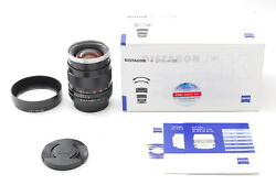 [Rare!! unused] Carl Zeiss Distagon T* 35mm F2 ZK MF Lens For Pentax From Japan