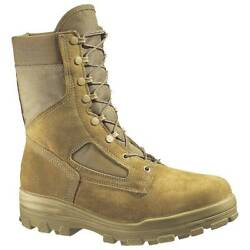 Bates Us Marines Boots Original Steel Toe Made In Usa Coyote Size 15 Reg Or Wide