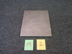 Military Surplus Part C-17 Aircraft Aviation Battery Cover Plate Metal