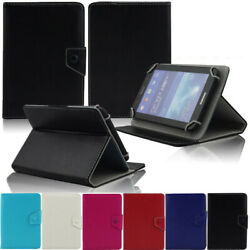 For 9.7 10 10.1 10.5 Inch Tablets Universal Flip Pu Leather Stand Cover Case
